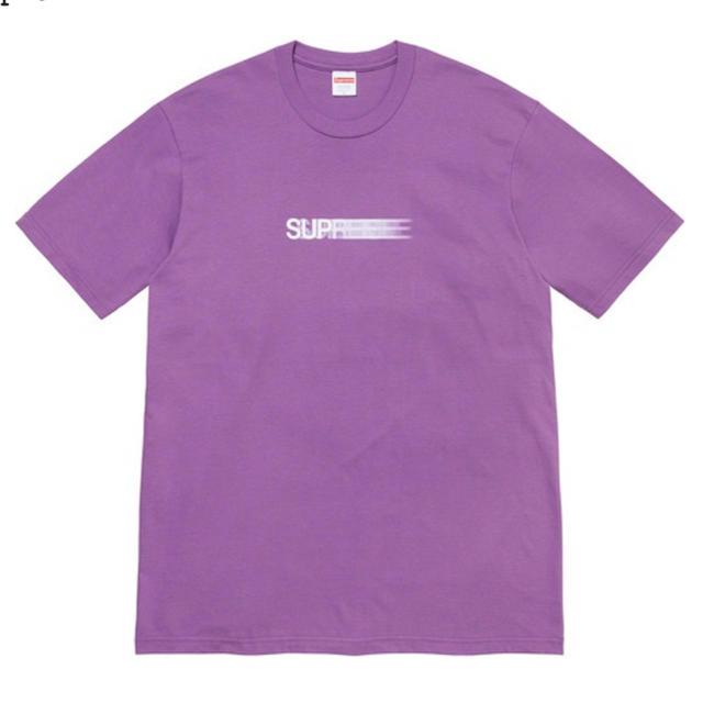 Supreme(シュプリーム)のSupreme Motion Logo Tee Purple Small メンズのトップス(Tシャツ/カットソー(半袖/袖なし))の商品写真