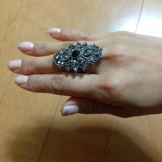 キラキラシックなリングサイズUS5(リング(指輪))