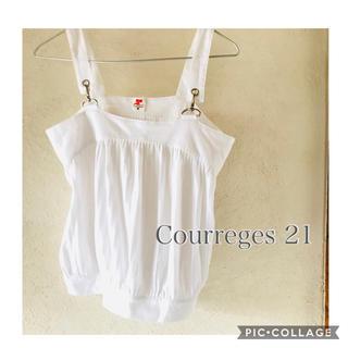クレージュ(Courreges)のクレージュ21 キャミソール(キャミソール)