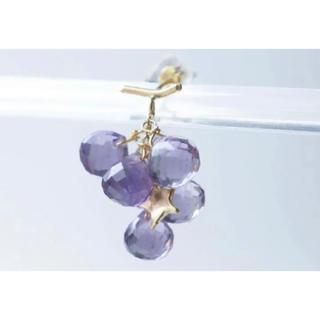 アッシュペーフランス(H.P.FRANCE)のmonaka jewellery モナカ ジュエリー  ぶどう ピアス(ピアス)