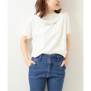 Spick and Span - 新品 2020SS Spick & Span FulgenteTシャツ ホワイト