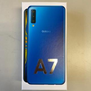 Galaxy - ギャラクシーA7 ブルー 未使用品