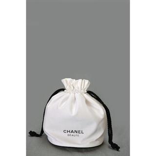 CHANEL - whny 新品未使用本物 シャネル 非売品巾着ポーチ