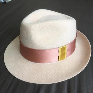 トゥモローランド(TOMORROWLAND)のLa cerise sur le chapeau フェルトハット (ハット)