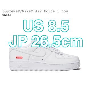 Supreme - 【Supreme】Nike Air Force 1 Low White 8.5