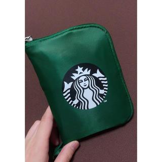 Starbucks Coffee - スターバックス TOGOポケッタブル スタバ エコバッグ グリーン