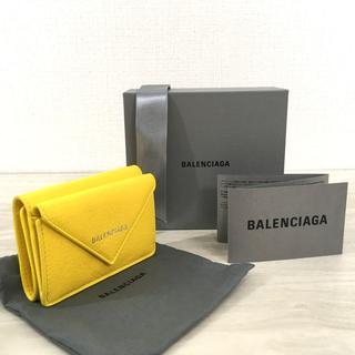 バレンシアガ(Balenciaga)の未使用品 BALENCIAGA ペーパーミニウォレット 114(折り財布)