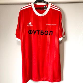 COMME des GARCONS - 美品 Gosha Rubchinskiy adidas サッカー プラシャツ 赤
