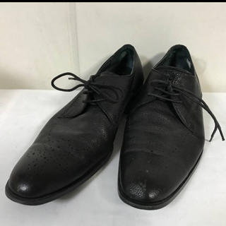 スーツカンパニー(THE SUIT COMPANY)の本物スーツカンパニー本革レザー靴ビジネスシューズスーツメンズ黒(ドレス/ビジネス)