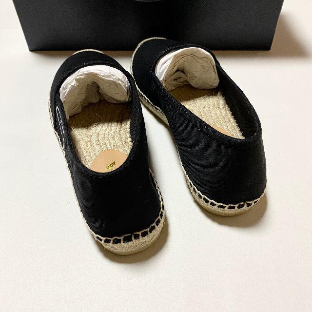 PRADA(プラダ)の新品未使用!送料込み★PRADA★ギャバジン エスパドリーユ メンズの靴/シューズ(その他)の商品写真