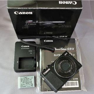 Canon - 人気のG9X 1型センサー搭載 WiFi・F2レンズ搭載