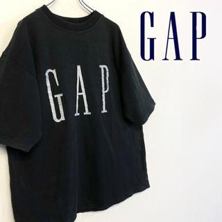 GAP - 美品 オールドGAP 刺繍ロゴTシャツ