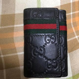 グッチ(Gucci)の★グッチ キーケース  GUCCI シェリーライン  ブランド ファッション 鍵(キーケース)
