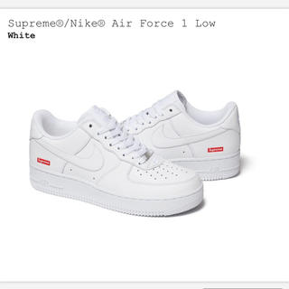 Supreme - supreme air force 1 27センチ