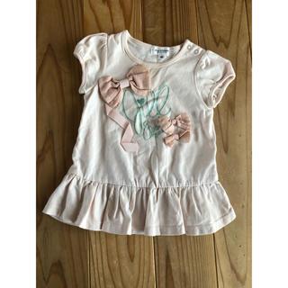 ジルスチュアートニューヨーク(JILLSTUART NEWYORK)のJILLSTUART♡トップス♡リボン♡Tシャツ♡80♡ジルスチュアート♡ロゴ(Tシャツ)