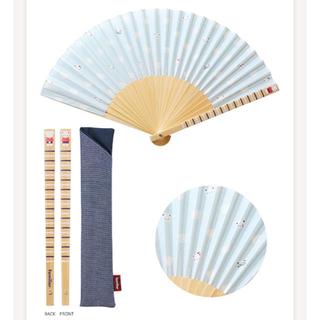 familiar - 【新品未使用品】ファミリア扇子 夏のファミリアショー限定品