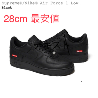 Supreme - Supreme Nike Air Force 1 Low 黒 US10 28cm