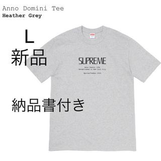 シュプリーム(Supreme)のsupreme Anno Domini Tee L Tシャツ 半袖 gley(Tシャツ/カットソー(半袖/袖なし))