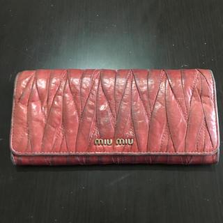 miumiu - ミュウミュウの長財布