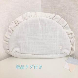 gelato pique - 【新品タグ付き】ジェラートピケ リネンフリルbagポーチ