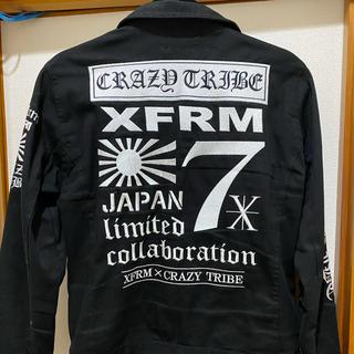 トランスフォーム(Xfrm)のXfrm × CRAZYTRIBE ジャケット(ライダースジャケット)