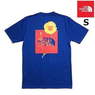 ザノースフェイス(THE NORTH FACE)のノースフェイス ボトルソース 半袖 Tシャツ(S)青 180902(Tシャツ/カットソー(半袖/袖なし))