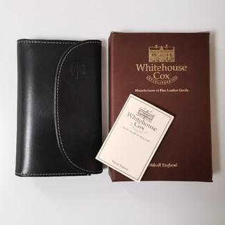 ホワイトハウスコックス(WHITEHOUSE COX)のWhitehouse Cox ブライドルレザー 三つ折り財布 ホリデーライン (折り財布)
