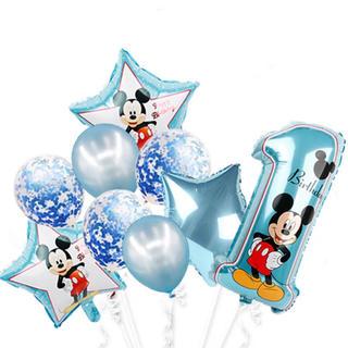ミッキー バルーン 誕生日 1歳 記念日