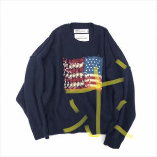 DAIRIKU/Inside Out America Knit ニット