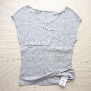 エフデ(ef-de)の新品エフデ/夏リブカットソーM/半袖Tシャツ(カットソー(半袖/袖なし))