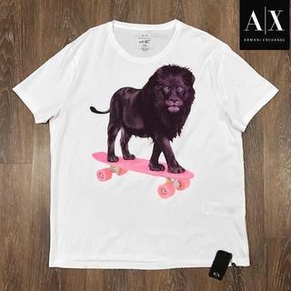 アルマーニエクスチェンジ(ARMANI EXCHANGE)の売切!アルマーニ A/X #st_ART 半袖Tシャツ 白(XXL)180614(Tシャツ/カットソー(半袖/袖なし))