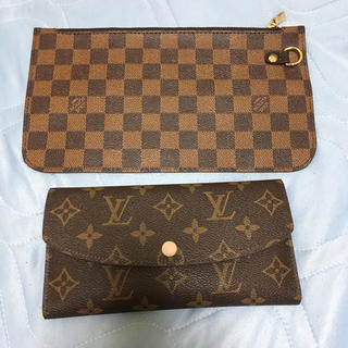 LOUIS VUITTON - 長財布 ポーチ 2点セット