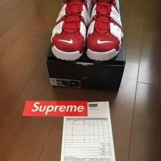 Supreme - Supreme Nike Air More Uptempo 27.5CM