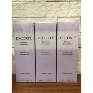 コスメデコルテ(COSME DECORTE)の新品 コスメデコルテ ハイドロチューナー 化粧水 3本(化粧水/ローション)