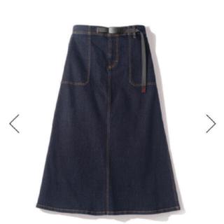 グラミチ(GRAMICCI)のGRAMICCI denim baker スカート 9301-DEJ M 新品(ロングスカート)