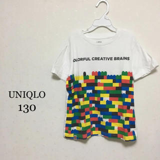 UNIQLO - UNIQLO 130 レゴ Tシャツ