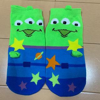 Disney - リトルグリーンメン靴下