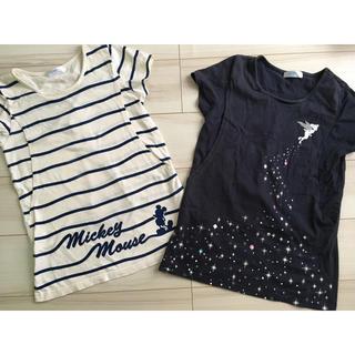 ベルメゾン(ベルメゾン)のDisney✳︎✳︎授乳口付きTシャツ2枚セット Sサイズ(マタニティトップス)