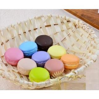 カラー マカロン スクイーズ 食品サンプル 9色 セット