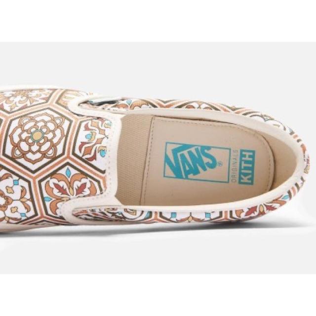 VANS(ヴァンズ)のKITH × VANS slip-on キス×ヴァンズ スリッポン メンズの靴/シューズ(スリッポン/モカシン)の商品写真
