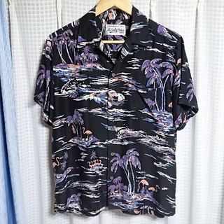 WACKO MARIA - 定価38500円❇️WACKOMARIA シルク混 アロハシャツ