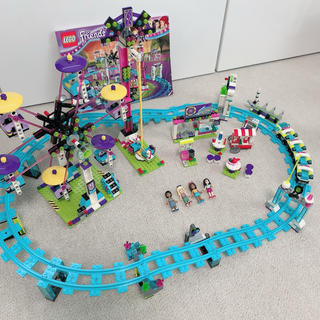Lego - レゴフレンズ 遊園地 ジェットコースター 41130