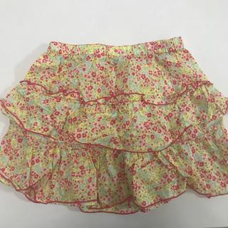 ユニクロ(UNIQLO)のユニクロ 花柄スカート110-125 (スカート)