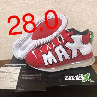 NIKE - 【28.0】 AIR MORE UPTEMPO 720 RED/WHITE