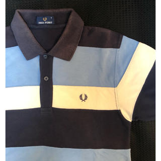 FRED PERRY - FRED PERRY ボーダーポロシャツ Sサイズ