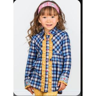 Matilda Jane シャツチュニック 8 120 マチルダジェーン(Tシャツ/カットソー)