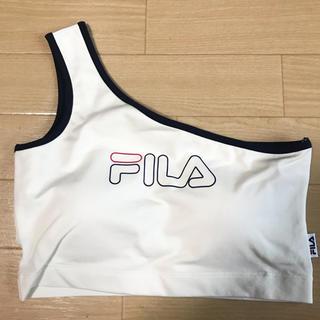 GYDA - GYDA FILA one shoulder ビスチェ