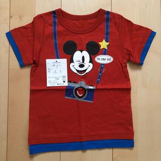 ベルメゾン(ベルメゾン)の☆ベルメゾン 新品未使用 ディズニー半袖Tシャツ 100cm ミッキー ☆(Tシャツ/カットソー)
