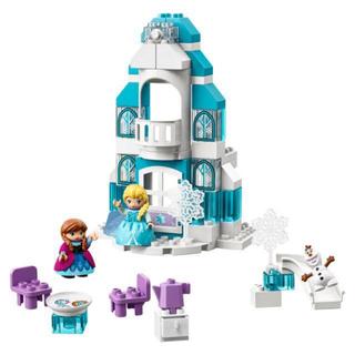Lego - レゴ (LEGO) デュプロ アナと雪の女王 光る!エルサのアイスキャッスル