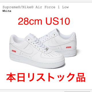 Supreme - Supreme®/Nike® Air Force 1 Low White 28